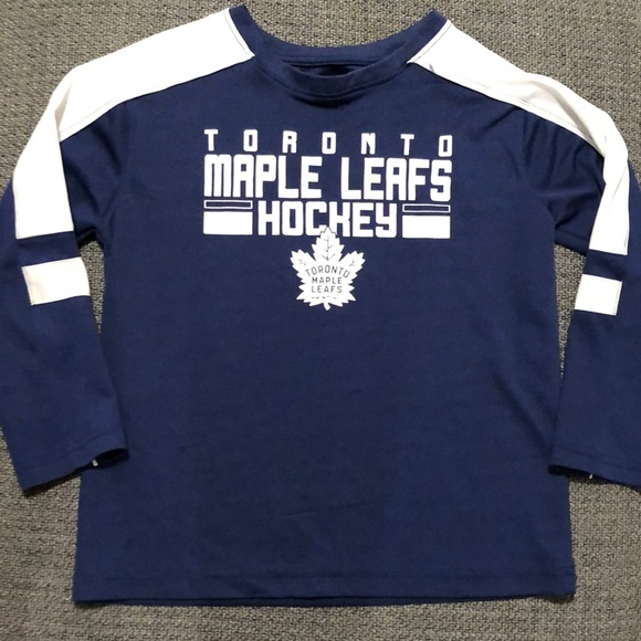 Toronto Maple Leafs long sleeve size 8-10